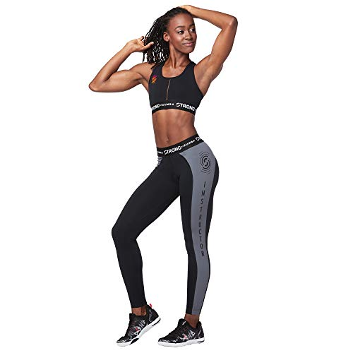 STRONG by Zumba Women's Workout Crossback Sports Bra with High Impact Support