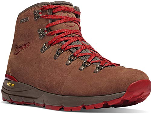 Danner Men's Mountain 600 4.5' Hiking Boot, Brown/Red-Suede, 11.5 D US