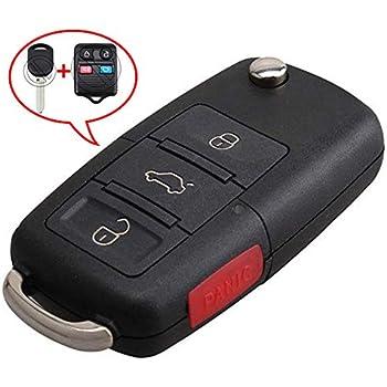 Car Flip Key Car Keyless Remote 4B For 2008 2009 2010 2011 Lincoln Town Car