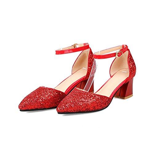donne 39 sandali gules la sono da tacchi moda dei alti dura sandali sandali sandali sandali puntata le e dTAHwxqd