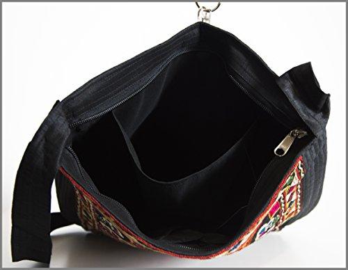 Crafts Galore by Fabucrafts , Damen Tote-Tasche schwarz schwarz