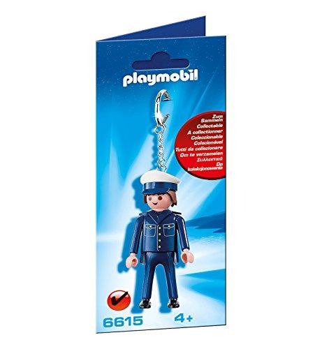 Policeman Keyring