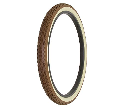 Alta Bicycle Tire Duro 26 x 2.125 Bike Thread Diamond Drizzle Style (Brown/Cream) ()