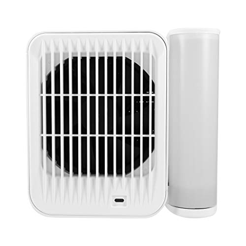 Micro Air Cooler USB Charging, Small Air Conditioner Cooling Fan Humidifier Household Office Desktop Mute Refrigeration Fan, 1-99 Gears Adjustment Speed