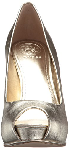 GUESS Women's HONORA2 Pump Gold free shipping pre order wiki cheap price tumblr where to buy cheap real view cheap online C3xdqsR