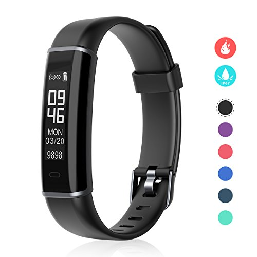 Fitness Tracker, EFOSHM Smart Fitness Activity Tracker with Step Counter and Calorie Counter Watch Pedometer, Slim Wearable Water Resistant and Sleep Monitor Wristband for Android/IOS by EFOSHM