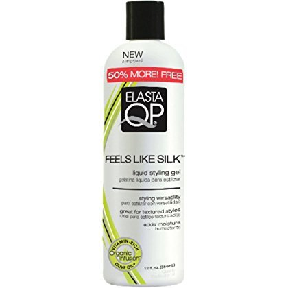Glaze Elasta Qp - Elasta QP Feels Like Silk Liquid Styling Gel, 12 oz (Pack of 6)