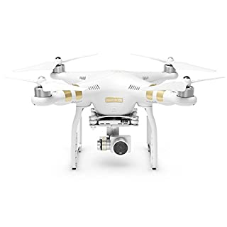 DJI Phantom 3 4K (White/Gold) (Renewed)