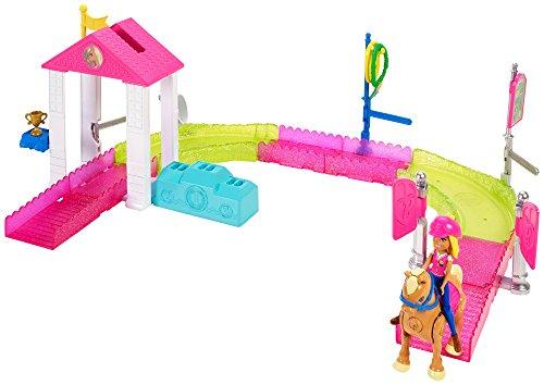 Barbie On the Go Pony Race Motorized Track (Motorized Track Set)