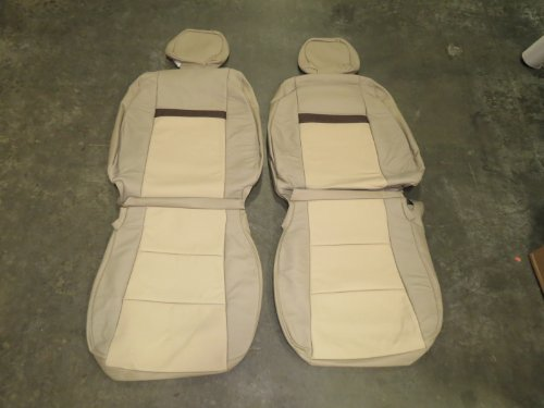 Toyota Camry LE/XLE/LE Hybrid/XLE Hybrid 2012-2014, Factory Leather Interior replacement Seat Cover Upholstery ()