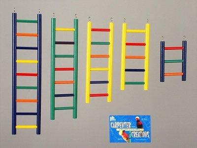 Prevue-Hendryx Bird Wood Ladder 9 Rung 18 inch (Prevue Solid Ladder)