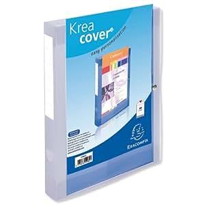 Exacompta 809463 - Envase de 8 carpetas de proyectos, 40 mm
