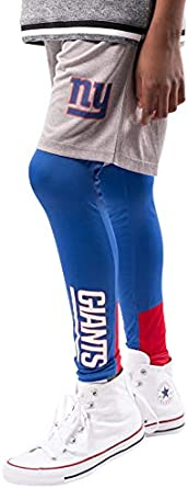Ultra Game NFL Boys 2 Piece Leggings /& Shorts Training Compression Set