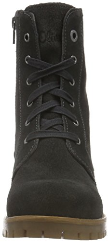 s.Oliver 25207, Botines para Mujer Gris (GRAPHITE 206)