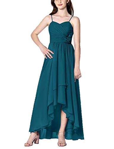 Cdress High Low Bridesmaid Dresses Chiffon Prom Party, used for sale  Delivered anywhere in USA