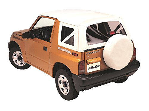 Bestop 51364-52 White Denim Replace-A-Top Soft Top Clear Windows; No door skins included for 1995-1998 Suzuki Sidekick