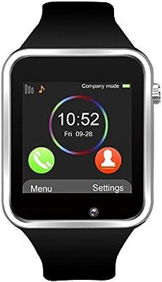 SmartWatch A1 - Teléfono con SIM - Pantalla táctil: Amazon.es ...