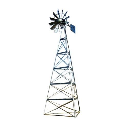 Outdoor Water Solutions LKT0108 24-Feet 3-Legged Windmill...
