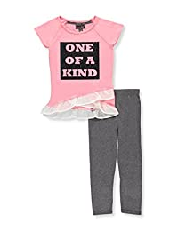 Dream Star Girls' 2-Piece Pants Set Outfit