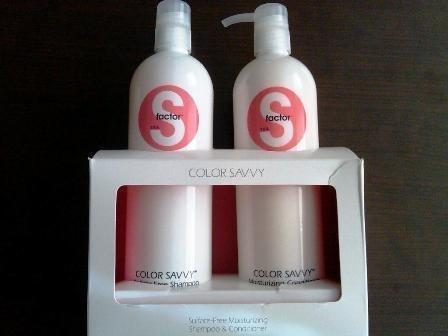 - S Factor Color Savvy Duo 25.36oz