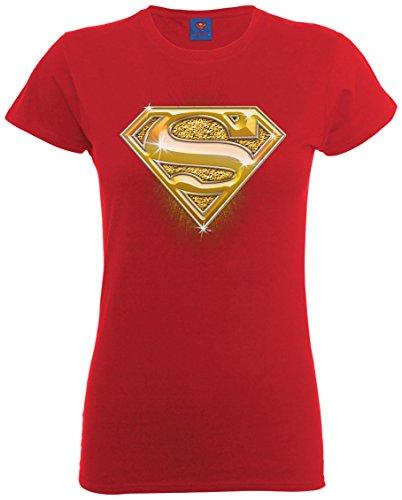 Red Maglietta corta Manica DC Cherry Comics Donna Rosso 5P0wxxzq6