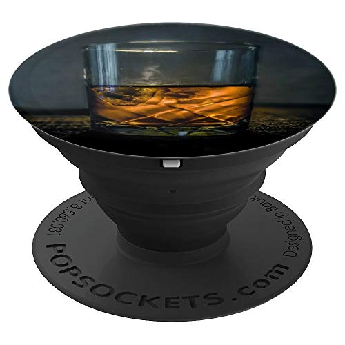 Whiskey Pop socket Bourbon Scotch Rye Alcohol Love Bartender - PopSockets Grip and Stand for Phones and Tablets