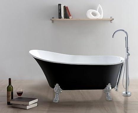 Vasca Da Bagno Nera : Indipendenti vasca da bagno nero bianco vasca da bagno in acrilico