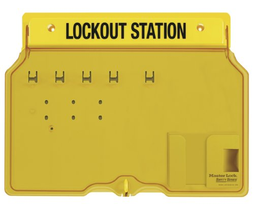Master Lock 4-Padlock Capacity Lockout Station with Cover, ()