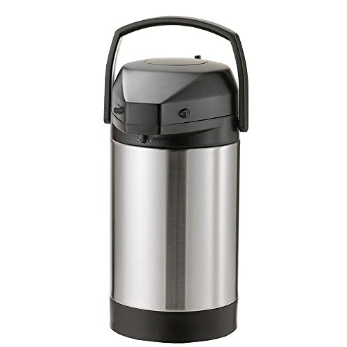 Service Ideas SVAP25L Economy Airpot with Lever, Stainless Steel Lined, NSF Listed, 2.5 L