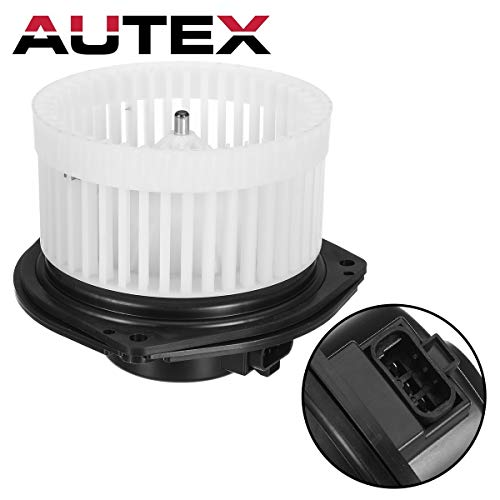 AUTEX HVAC Blower Motor Assembly Compatible with Buick Lesabre,Cadillac Deville,Pontiac Bonneville 2002-2005,Olds Aurora 2002 2003 Replacement for Cadillac Seville 03-04 Blower Motor 700110 89018521