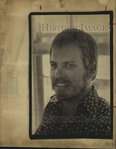 Vintage Photos 1977 Press Photo W. B. Daugherty, Journalism Teacher at San Antonio University