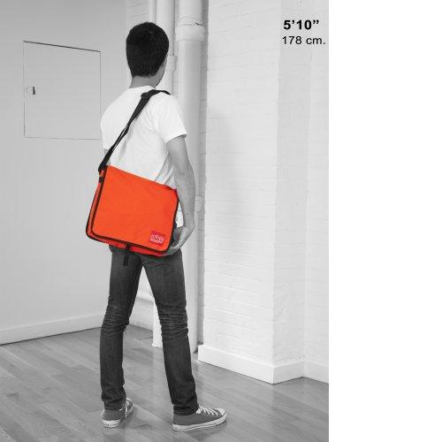 Dj Messenger Olive Red Unisex Manhattan Bag 1428 Md Portage adult q1Xnwazt