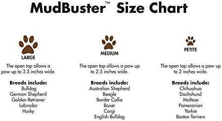 Dexas MudBuster Portable Dog Paw Washer/ Paw Cleaner