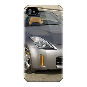 Hot Design Premium UlOZkne6916GrNAN PC Case Cover Iphone 4/4s Protection Case(nissan Z350) BY icecream design