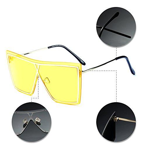 Unisex Estilo Gafas sol XFentech 05 Mujer para de de Hombre y UV400 Uqxvz