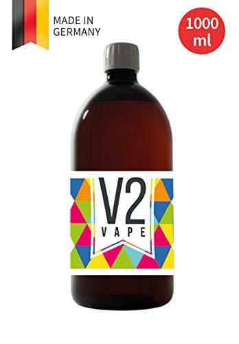 V2 Vape E-Liquid Grundstoff Base Basis Pharmaqualität reinst zum selber mischen von E-Liquids für E-Zigarette und E…