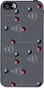 Patrón Snoogg Pájaro 2494 De Diseño De Protección Volver Funda Para El Iphone...