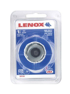 Lenox Window - Lenox Tools 1771960 Bi-Metal Speed Slot Hole Saw with T3 Technology, 1-1/4