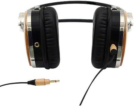 Maple Tribeca Genuine Wood Aviator Headphones for Kindle Fire HD