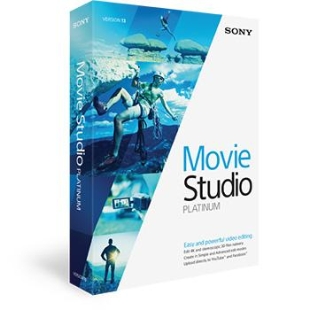 Movie Studio 13 Platinum from Sony