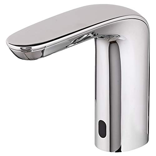 Bathroom Faucet Elevated Sink - American Standard 775B115.002 .35 GPM NextGen Selectronic Integrated Faucet Battery Powered ADM LimiTemp Safety Shut-Off, Polished Chrome