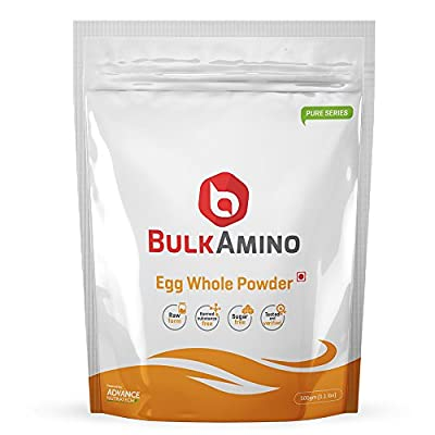 Advance Nutratech BulkAmino Egg Whole Powder 500gram(1.1lbs) Unflavoured