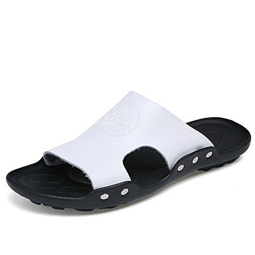 anti spiaggia Kraft ciabattine slittamento bianco da Estate scarpe 41 fankou trascinare tendenza estate e uomini sandali AnfCq