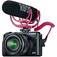Canon EOS M3 Video Creator Kit with EF-M 18-55mm f/3.5-5.6 IS STM Lens, Black (9694B221) Review Review Image
