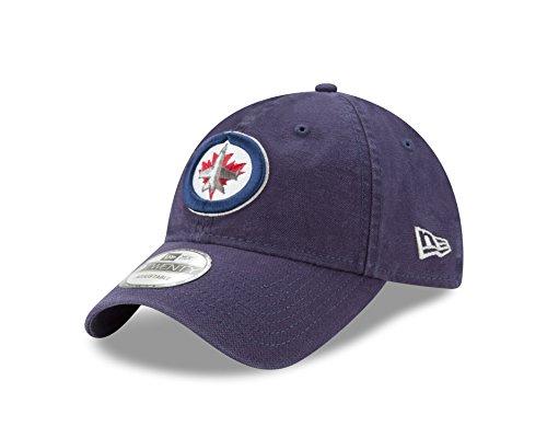 Winnipeg Jets Nhl (NHL Winnipeg Jets Adult Core Classic Primary 9TWENTY Adjustable Cap, One Size, Navy)