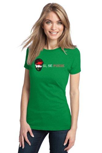 JTshirt.com-15061-CESAR CHAVEZ Ladies\' T-shirt / Si Se Puede, Hispanic, Latino, Mexican Labor Pride-B009RX3BDO-T Shirt Design