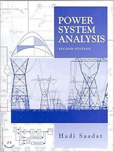 Power Systems Analysis 2nd International Edition Saadat Hadi 9780071281843 Amazon Com Books