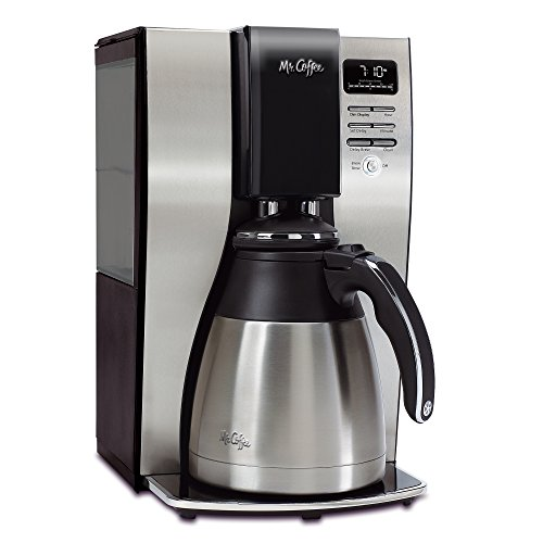 Mr. Coffee Optimal Brew 10-Cup Thermal Coffeemaker System, (Brew Pot Coffee)