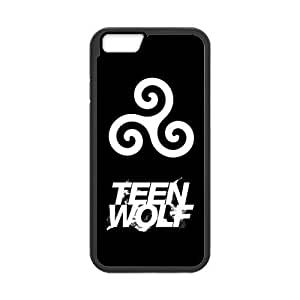 HipsterOne Teen Wolf Logo Black Case for iPhone 5s inch; Laser Technology) Custom Phone Cover