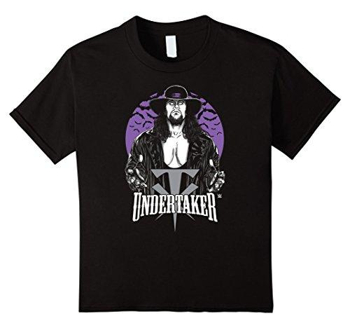 Kids WWE Vintage Undertaker Logo T-Shirt 10 Black by WWE